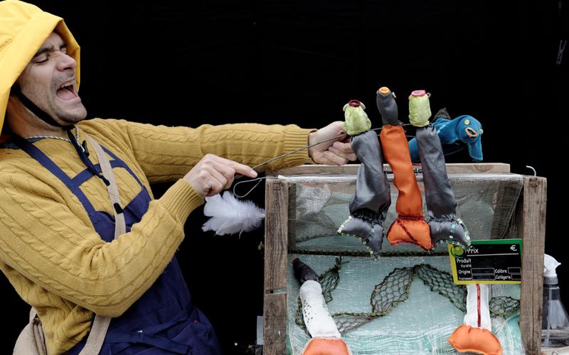 Petits poissons – Cie Toutito Teatro